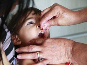Campanha deste ano inclui, além de pólio, todas as vacinas disponíveis pelo SUS para crianças de até 5 anos e de 9 a 15 anos incompletos (Foto: Rizemberg Felipe/Jornal da Paraíba)