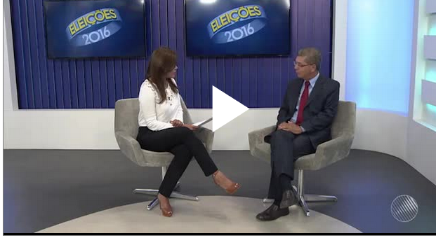 Eleições 2016: Assista a íntegra da entrevista do candidato Zé Raimundo na TV Sudoeste