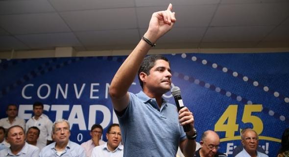 """""""Não quero um governador mais ou menos, mas o melhor que a Bahia já teve"""", provoca Neto em convenção do PSDB"""