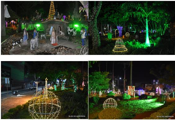 Prefeitura inaugura iluminação natalina da Tancredo Neves, Natal Conquista de Luz