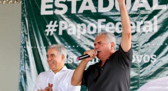 Depitafos Zé Neto (PT) e Ângelo Coronel (PSD)